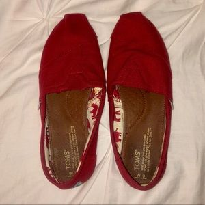 Red Toms - size 9